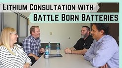 Lithium Battery Consultation with Battle Born Batteries    Deep Dive into Powering a 50amp RV
