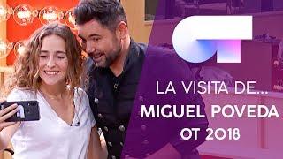 Visita de MIGUEL POVEDA a la ACADEMIA | OT 2018
