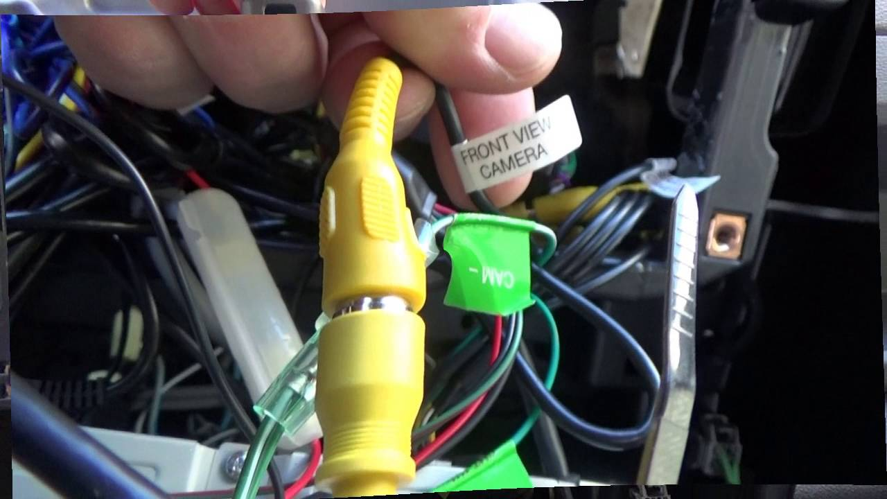 How to: Kenwood CMOS310 Camera installation in a Kenwood