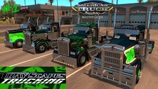 American Truck Simulator MULTIPLAYER #1 A Start of something Beautiful