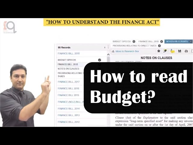 How to read Budget ? | for budding professionals | CA. Arvind Tuli | Budget 2019
