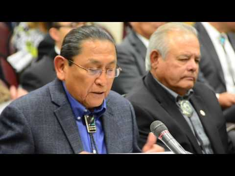 US Indian Affairs Senate Hearing on Repatriation and Theft of Tribal religious items