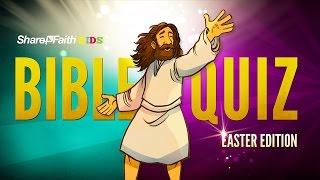 Easter Sunday School Bible Qขiz F๐r Kİds   Sharefaith.com