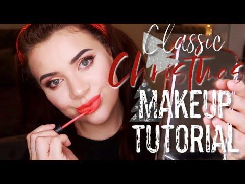 CLASSIC CHRISTMAS GLAM TUTORIAL thumbnail