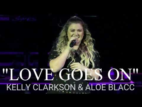 """Love Goes On"" - Kelly Clarkson & Aloe Blacc [30 second preview]"