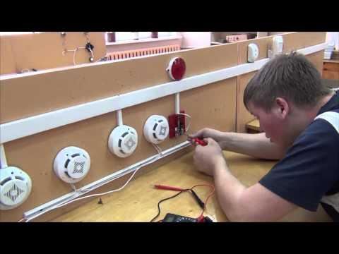 «Моя профессия -- моё будущее» - Электромонтер охранно-пожарной сигнализации