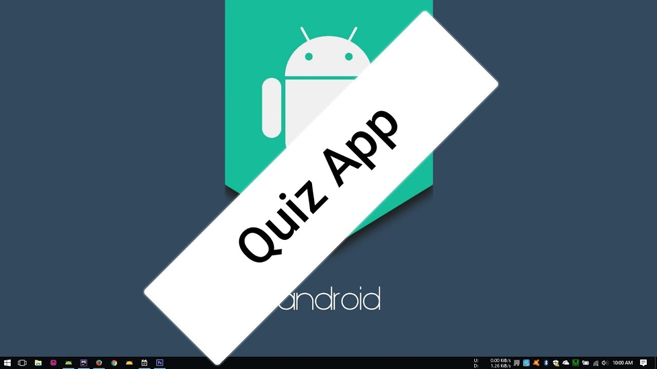 Android Tutorial (Kotlin) - 18 - Quiz App