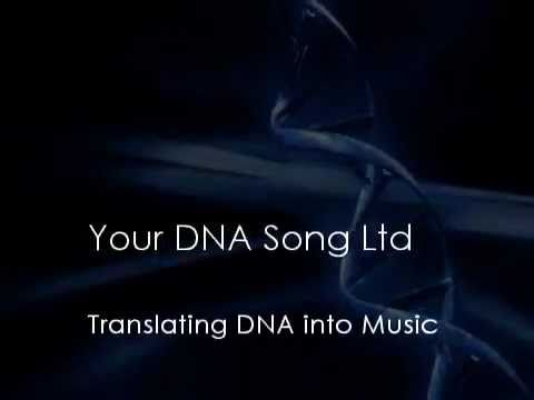 Your DNA Song Ltd - DNA to Music Process