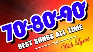 Best Old Love Songs 70s 80s 90s With Lyrics - Most Popular English Love Songs Collection