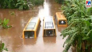 പത്തനംതിട്ടയിൽ ശക്തമായ മഴ   Kerala Floods