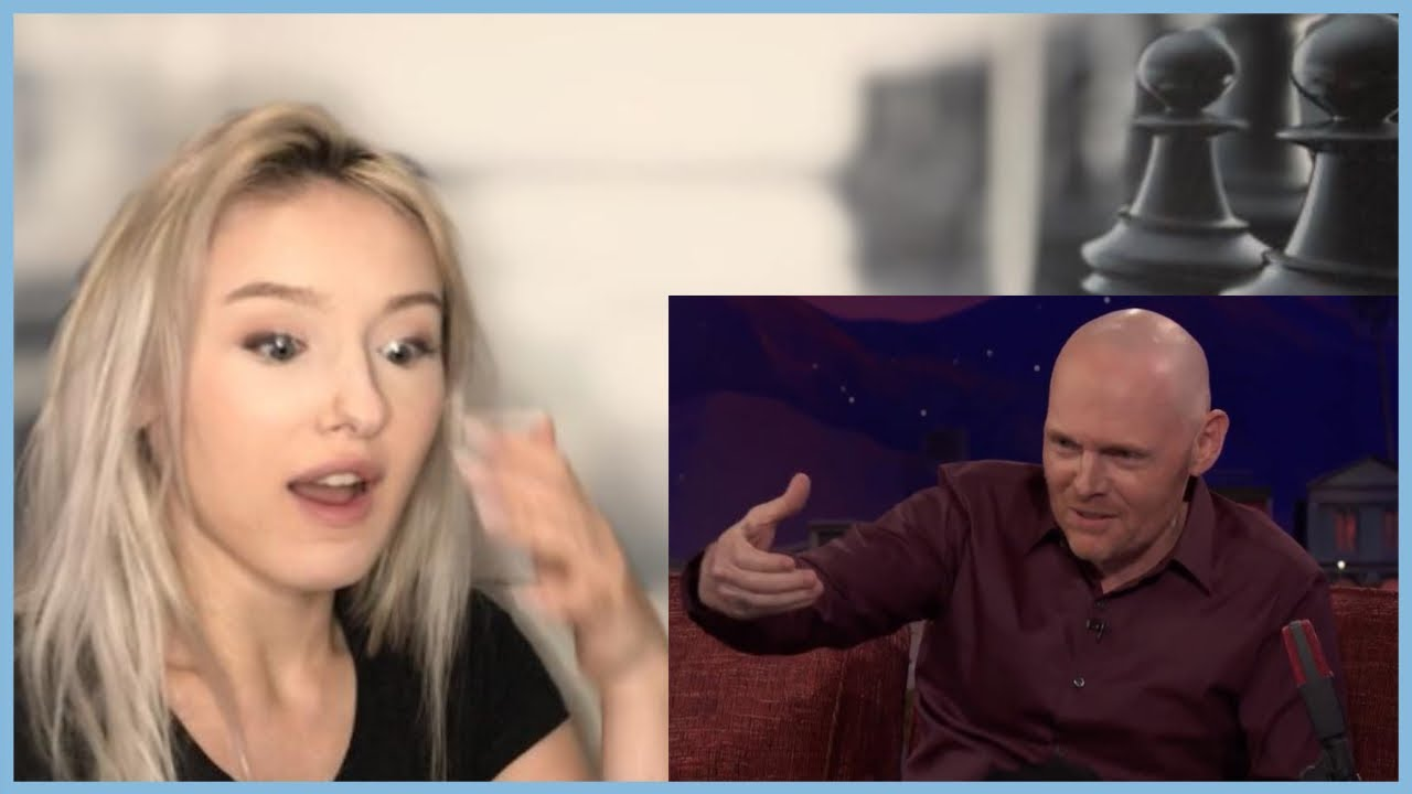 Girl Reacting to Bill burr on women - YouTube