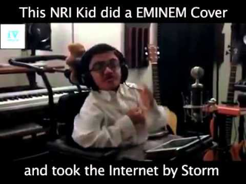 Nri Kid Did Eminem Cover Who Says He Is Disabled He Is Much More Talented