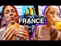 AMERICANS TRY FRENCH MCDONALDS IN PARIS