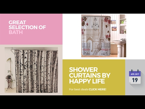 Shower Curtains By Happy Life Great Selection Of Bath Products