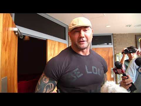 Will  Dave Bautista be at Wrestlemania?