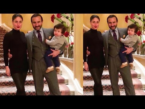 Kareena Kapoor Khan and Saif Ali Khan look so royal with son Taimur Ali Khan
