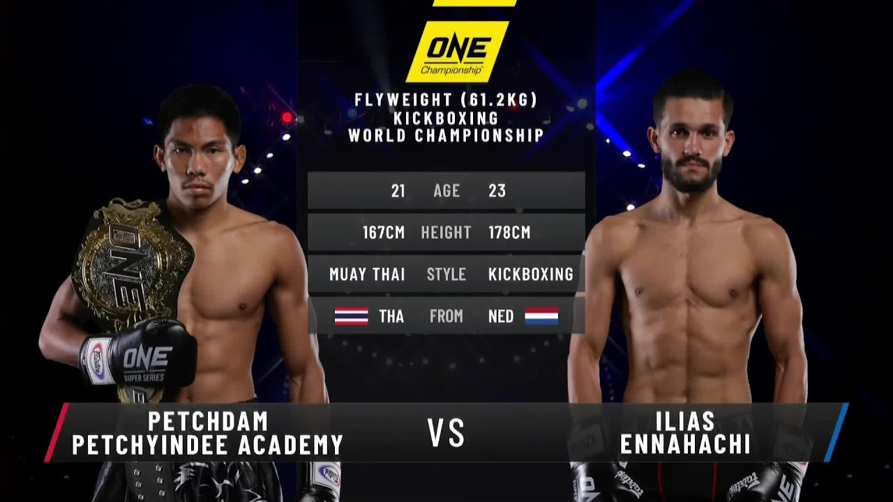 Ilias Ennahachi vs. Petchdam | Full Fight Replay