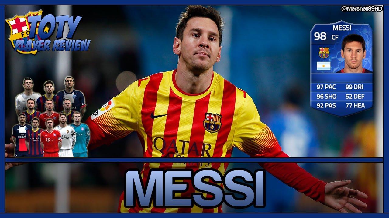 Messi Fifa 14 Card FIFA 14 UT - Li...