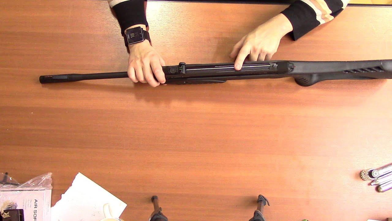 Пневматическая винтовка ИЖ 60 (МР 60) - YouTube