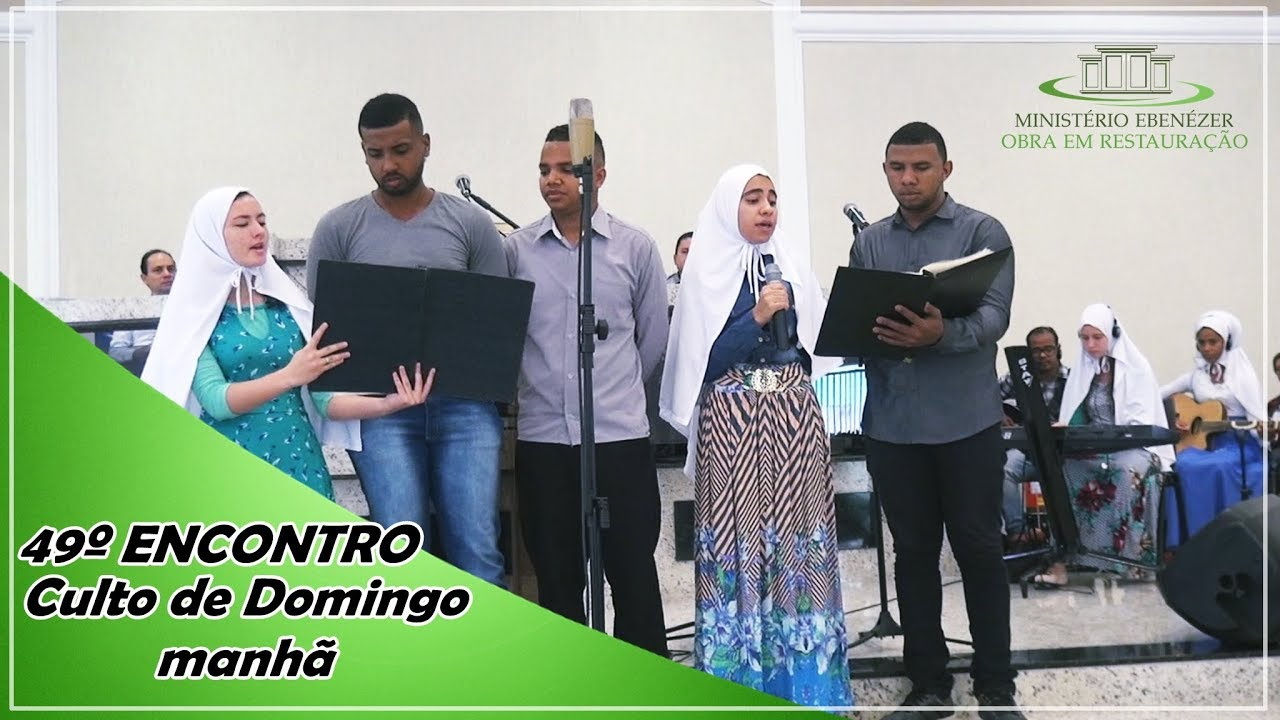49� Encontro/Retiro Espiritual 2019 - Culto de Domingo de manh� realizado no dia 03.03