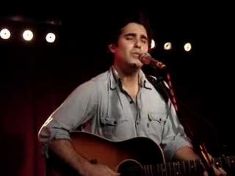 Joshua Radin They Bring Me To You Water Rats London July 2007