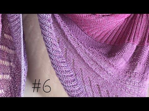 Youtube-Tutorial: Cinnamon Sunrise Tuch Strickanleitung #6 - Woolpedia®