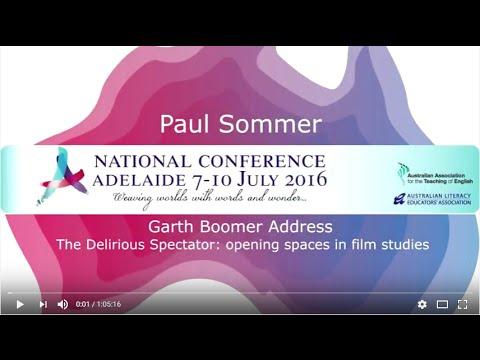 2016 AATE Garth Boomer Address