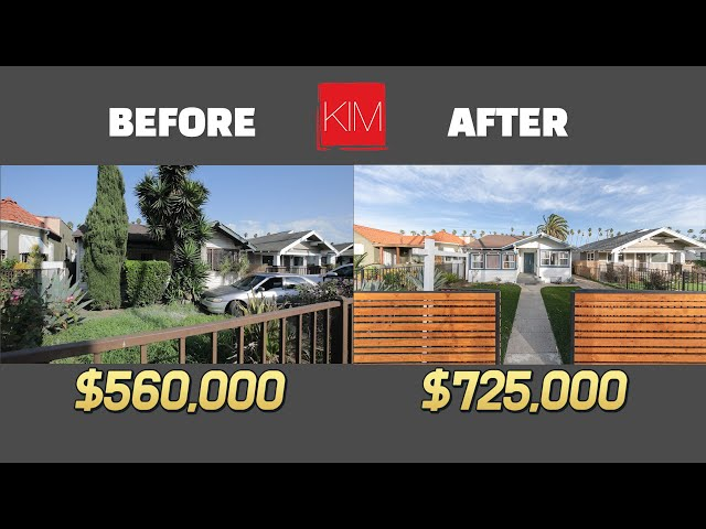 Complete Single Family Home Flipping in South LA Before and After ($ 60,000 Profit)