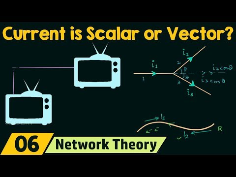 Is Current a Scalar or a Vector Quantity?