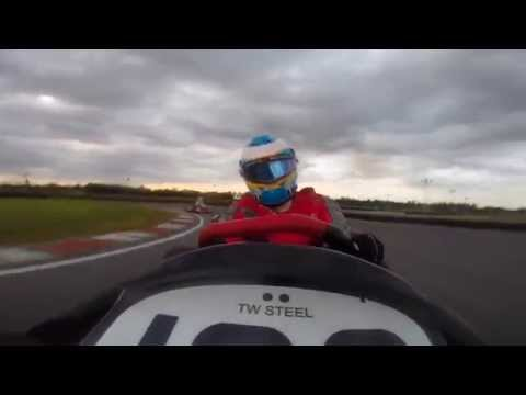 Formula One Driver Go Go Carting
