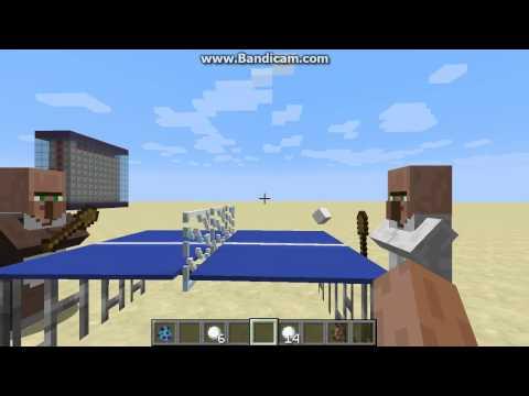 Hướng dẫn tạo đánh bóng bàn : Dùng tới commandblock trong Minecraft