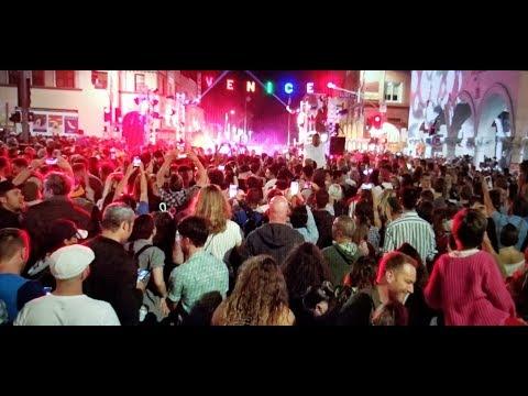 Venice Pride Sign Lighting & Block Party 2017