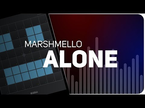 PLAYING MARSHMELLO - ALONE ON SUPER PADS LIGHTS - Launchpad - KIT FRENETIC