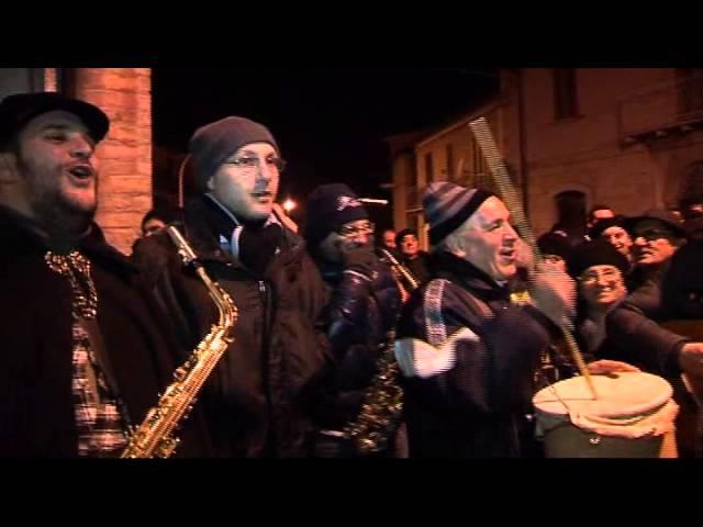 Gambatesa maitunat 31-12-2012 - casa Emilio Venditti squadra Concettini
