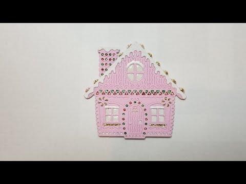 Alice in Wonderland. Part 2. Craft Haul. Gingerbread House.