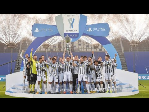JUVENTUS WINS SUPER CUP 2021 CHAMPION #JUVENAPOLI  #SUPPERCOPPA