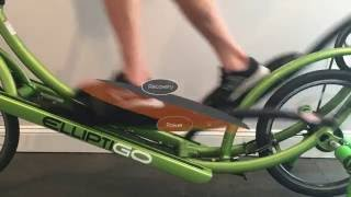 Learning the Long Stride of ElliptiGO Elliptical Bicycles