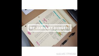 Budget Process- Month of January