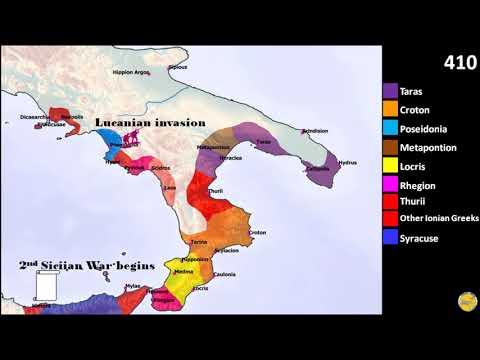 History of Magna Graecia, part 2, Southern Italy
