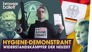 Hygiene-Demonstrant: Widerstandskämpfer der Neuzeit