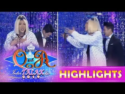 It's Showtime Miss Q and A: Vice is embarassed by Kuya Escort Ion