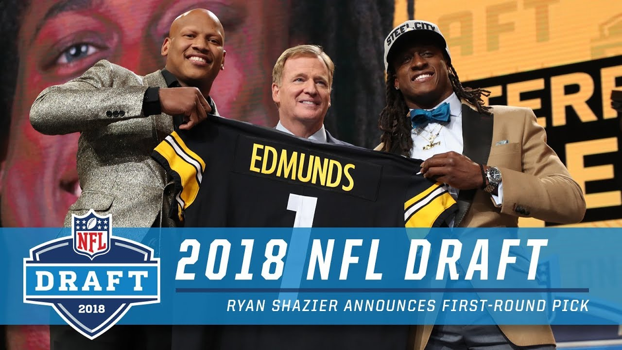 581666bcb Ryan Shazier Announces First Round Pick   2018 NFL Draft - YouTube