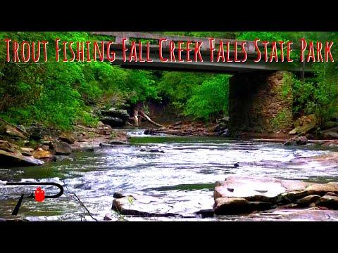 Trout Fishing Fall Creek Falls State Park