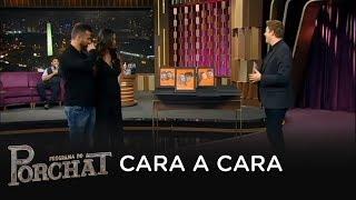 Baixar Marlon e Letícia participam do Cara a Cara