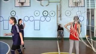 Девочки волейбол ОШ Портовская и ОШ Стародубовка
