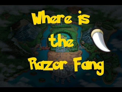 pokemon y how to get razor fang