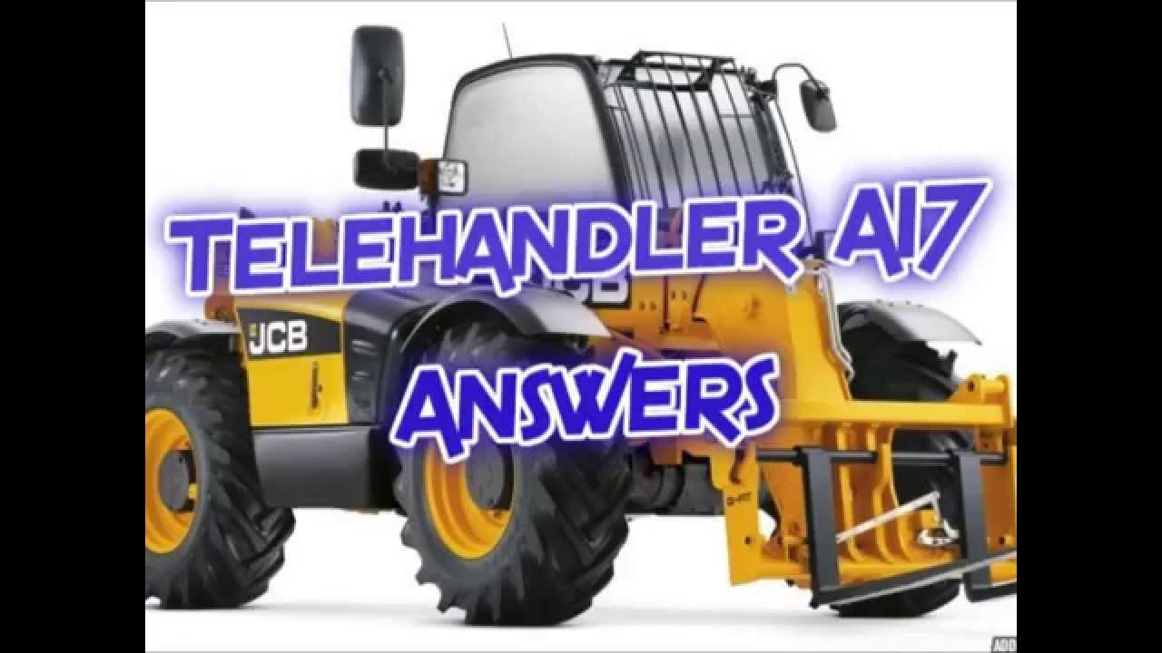 Telehandler a17 answers youtube fandeluxe Images