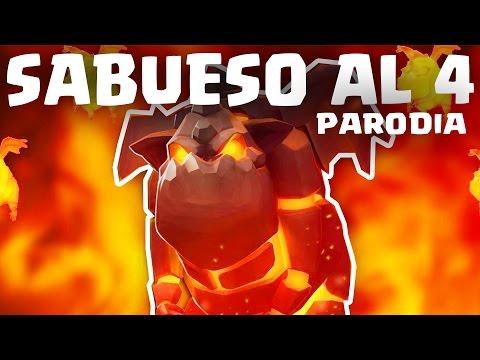 SABUESO AL 4 (PARODIA DE CLASH ROYALE) | Felices los 4 - Maluma | GiovaGames
