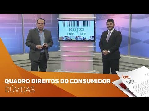 Quadro Direitos do Consumidor Dúvidas e orientações - TV SOROCABA/SBT