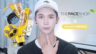 THE FACE SHOP x KAKAO FRIENDS HAUL! - Edward Avila